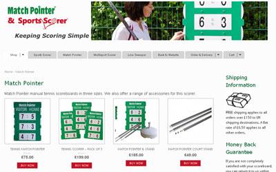 Match Pointer Shop