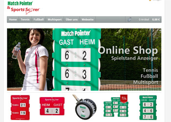 Tennis Scoreboard Shop